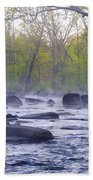 Stepping Stones Beach Towel by Bill Cannon