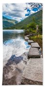 Stepping Stones Beach Towel