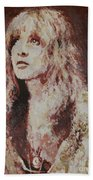 Stevie Nicks Beach Towel