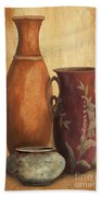Still Life-h Beach Towel by Jean Plout