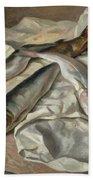 Still Life Of Fish, 1928 Beach Towel