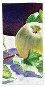 Still Life With Apple Beach Sheet