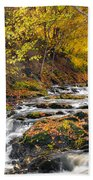 Still River Rapids Beach Towel
