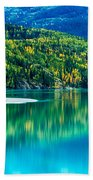 Stillness On The Kenai Beach Towel
