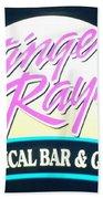 Stinger Ray's Beach Towel