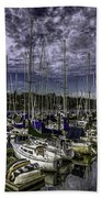 Stirring The Sky Beach Towel