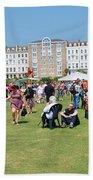 St.leonards Festival England Beach Towel