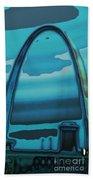 St.louis Arch Beach Towel