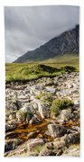 Stob Dearg Mountain Beach Towel