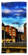 Stockholm In Color Beach Towel