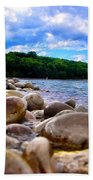 Stone Beach Beach Towel