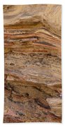 Stone Colors And Textures Beach Towel