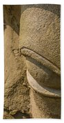 Stone Idol Beach Towel