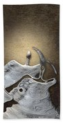 Stone Men 29 - Love Rythm Beach Towel by Variance Collections