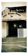 Stone Pony Beach Towel by Colleen Kammerer