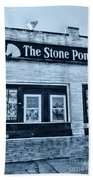 Stone Pony Cool Side View Beach Towel