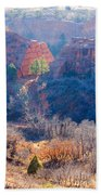 Stone Quarry At Red Rocks Open Space Beach Towel