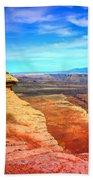 Stone - Sky - Colour Beach Towel