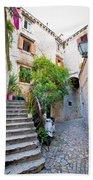 Stone Streets Of Old Trogir Beach Towel