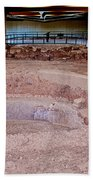 Stone Village-850 Ad In A Protective Shelter On The Mesa Top In Mesa Verde National Park-colorado Beach Towel