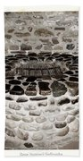 Stone Well At Old Fort Niagara Beach Towel