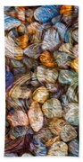 Stoned Stones Beach Towel by Omaste Witkowski