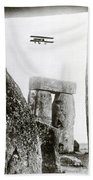 Stonehenge 1914 Beach Towel