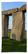 Stonehenge And Shadows Beach Towel