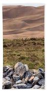 Stones And Sand Beach Towel