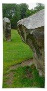 Stones At Avebury Beach Towel