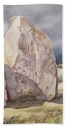 Stones Of Castlerigg Beach Towel