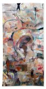 Stones With A Heart   Ears Of The Wall Beach Towel