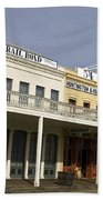 Store Fronts Old Sacramento Beach Towel