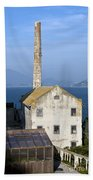 Storehouse Alcatraz Island San Francisco Beach Towel