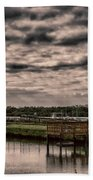 Storm A-coming Beach Towel