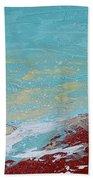 Storm At Red Rock Ridge Beach Towel