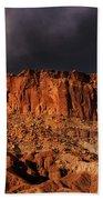 Storm Clouds Capitol Reef National Park Utah Beach Towel