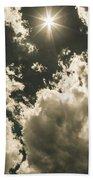Storm Clouds Gathering Beach Towel