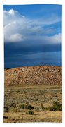 Storm Clouds Over Central Wyoming Beach Towel