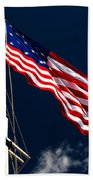 Storm Flag At Fort Mchenry Beach Towel