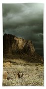 Storm In The Superstitions Beach Towel