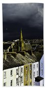 Storm Over Conwy Beach Towel