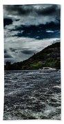 Stormy Loch Ness Beach Towel