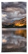 Stormy Sunset At Tenaya Beach Towel