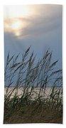 Stormy Sunset Prince Edward Island II Beach Towel by Micheline Heroux