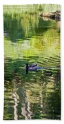 Stow Lake Idyll Beach Towel