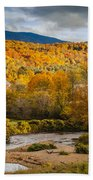 Stowe Church At Sunset Beach Towel