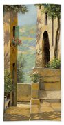 stradina a St Paul de Vence Beach Towel