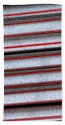 Straw Red Beach Towel