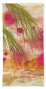 Strawberry Moon Beach Towel
